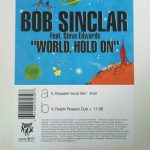 Bob Sinclar - World, hold on (US)