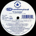 2 Unlimited - Faces (pressage US)