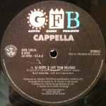 Cappella - U got 2 let the music (remix) - Live it (Italy)
