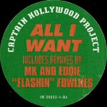 Captain Hollywood Project - All I want (US promo red)